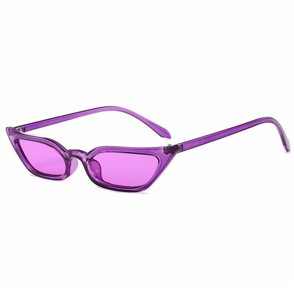 Accessories Purple Cat Eye Sunglasses Poshmark